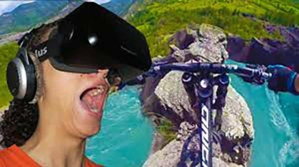 Realité virtuelle : le VTT