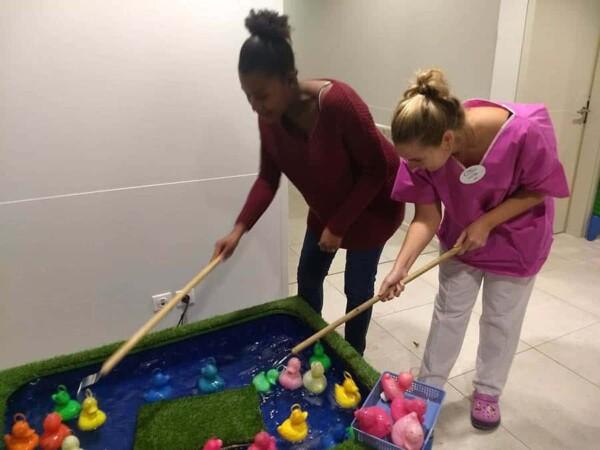 Retour en enfance : pêche aux canards