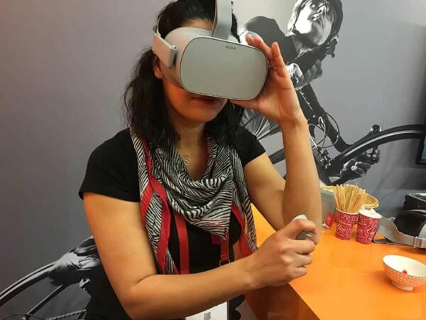 Retour en enfance : réalité virtuelle
