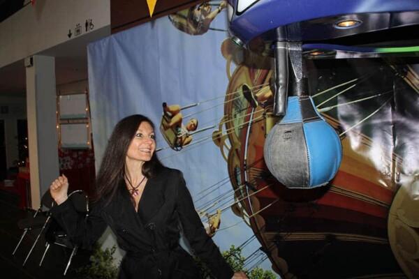 Retour en enfance : le boxer électronique