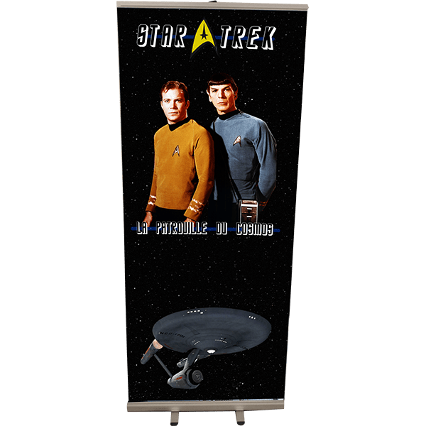 Roll Up 85x200 Star Trek