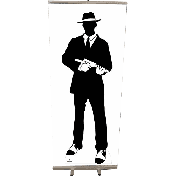 Roll Up 85x200 silhouette gangster 2 copie 4