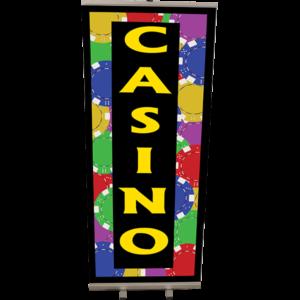 Roll Up Casino 85x200