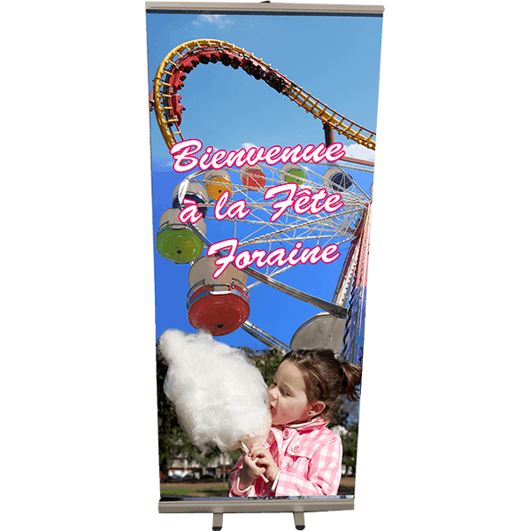 Roll Up Fete foraine 85x200