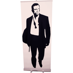 Roll Up James Bond silhouette