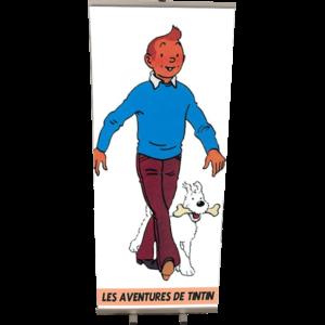 Roll Up Tintin 85x200