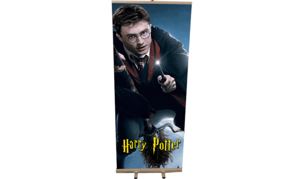 Roll Up silhouette Harry Potter Balai 85x200 1 6