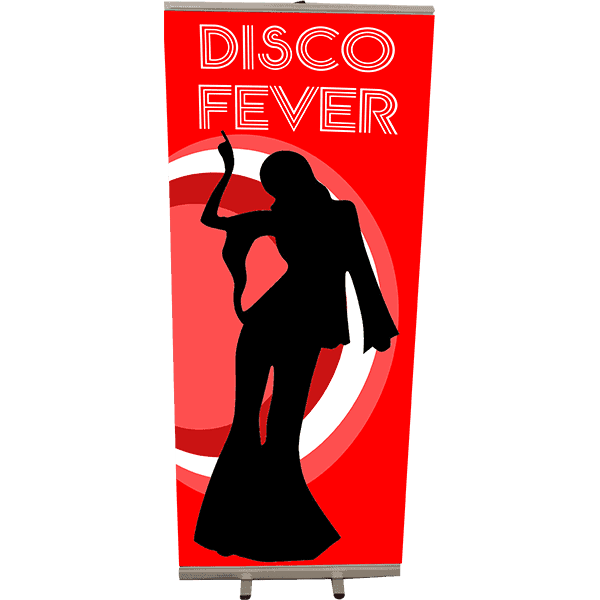 Roll Up type 85x200 Disco femme rouge