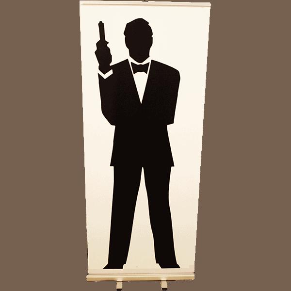 Roll up James Bond Silhouette 85x200 copie 4