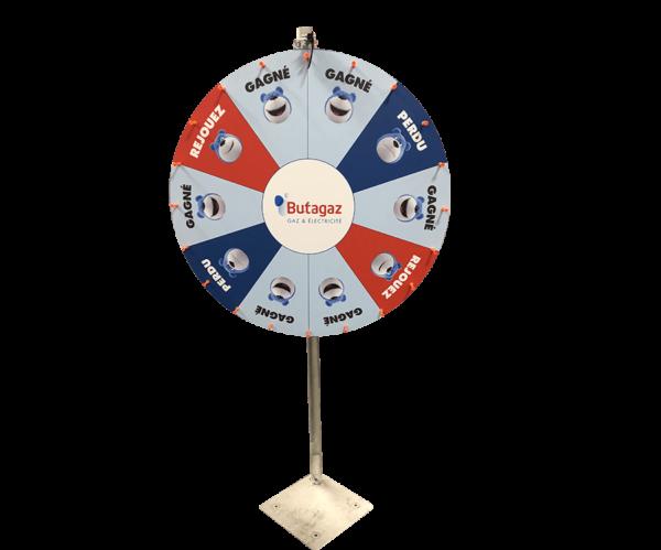 Roue de la chance : la roue butagaz