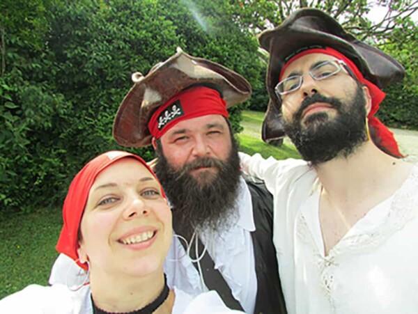 Selfie Adventure : version pirate