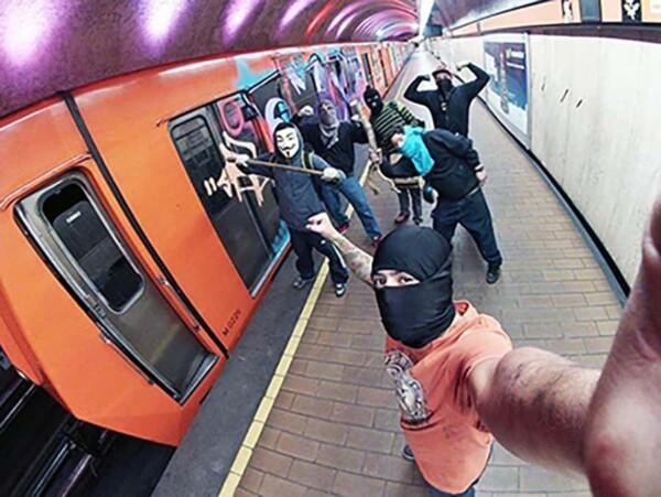 Selfie Adventure : version métro