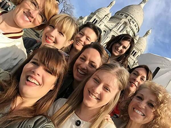 Selfie Adventure : montmartre