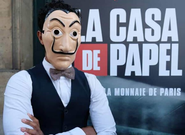 Soirée casa de Papel : avec le masque