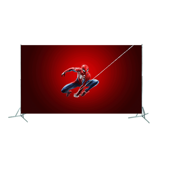 Toile géante : Spiderman
