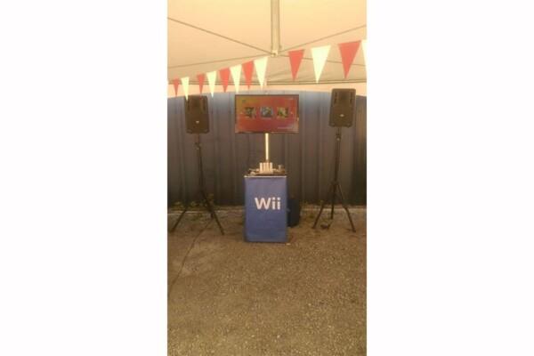 Stand Wii : le jeu en place