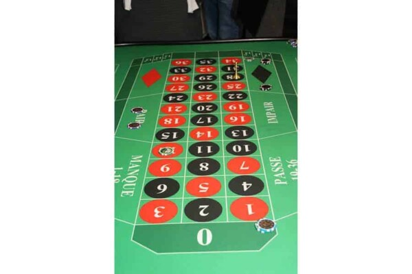 Table de Roulette : le tableau de jeu