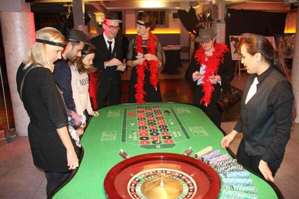 Table de Roulette : ambiance charleston