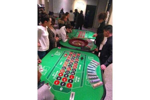 Table de Roulette : double table