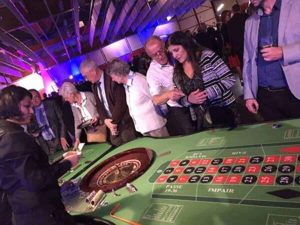 Table de Roulette : les joueurs