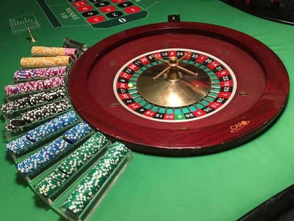 Table de Roulette 16