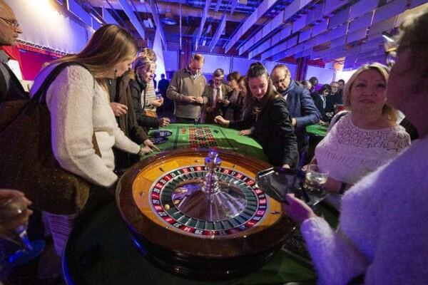 Table de Roulette : avec le cylindre
