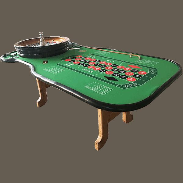 Table de Roulette : photo détourée