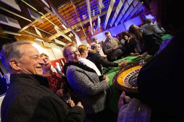 Table de Roulette : en soirée