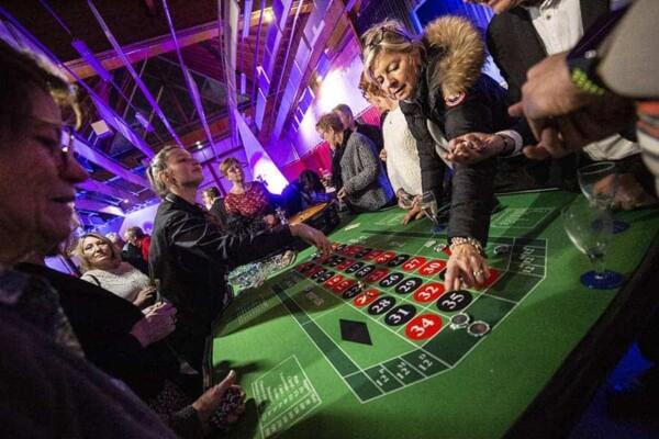 Table de Roulette : croupier