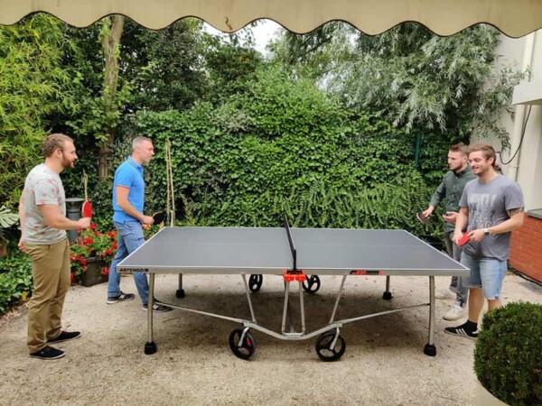 Table de ping pong : à 4