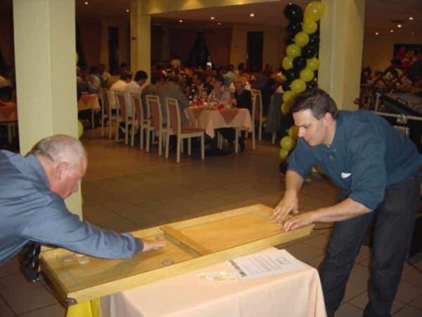 Table elastique : en plein match