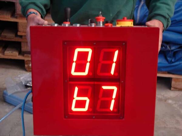 Taureau mécanique : le compteur de temps
