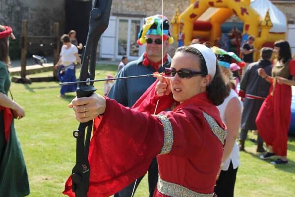 Tir à l'arc : version médiévale