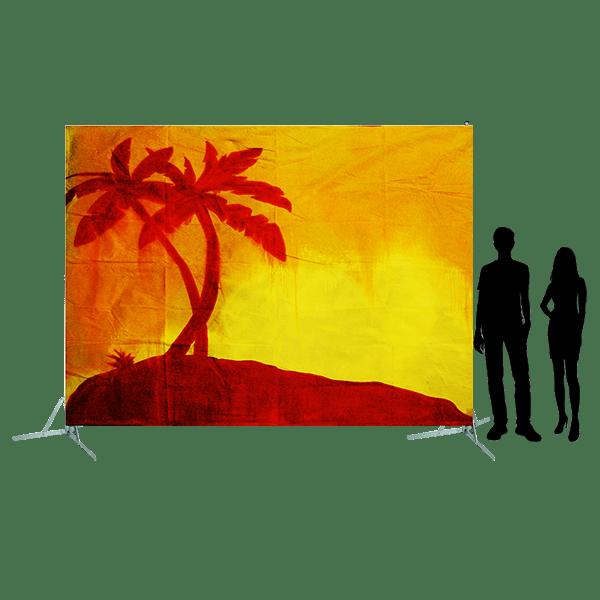 Toile 29 Palmiers au coucher de soleil copie 4