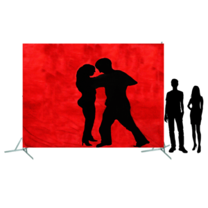 Toile 34 - danseurs de Salsa