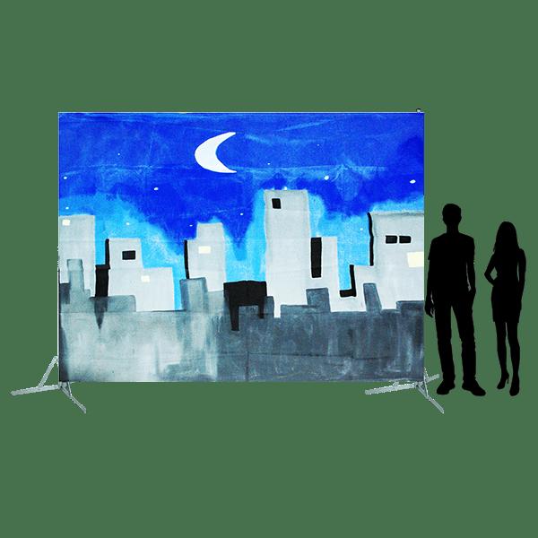 Toile 37 - décor urbain 2