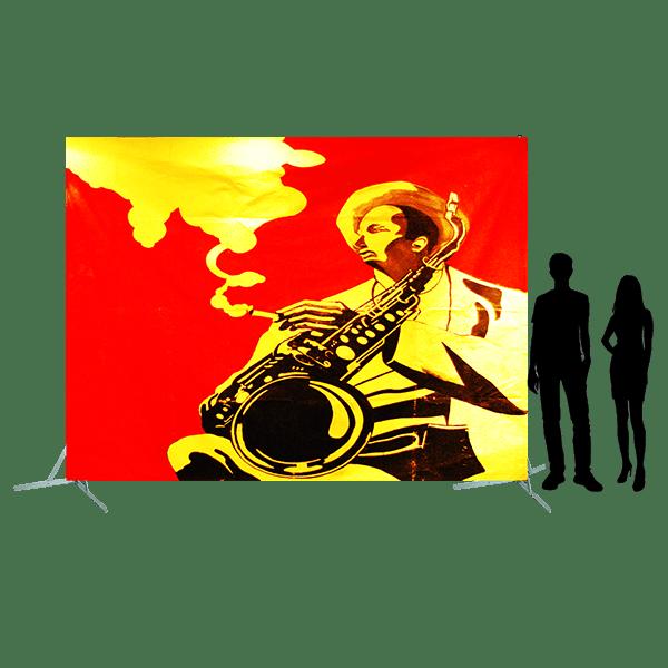 Toile 39 joueur de saxo fumant copie 4