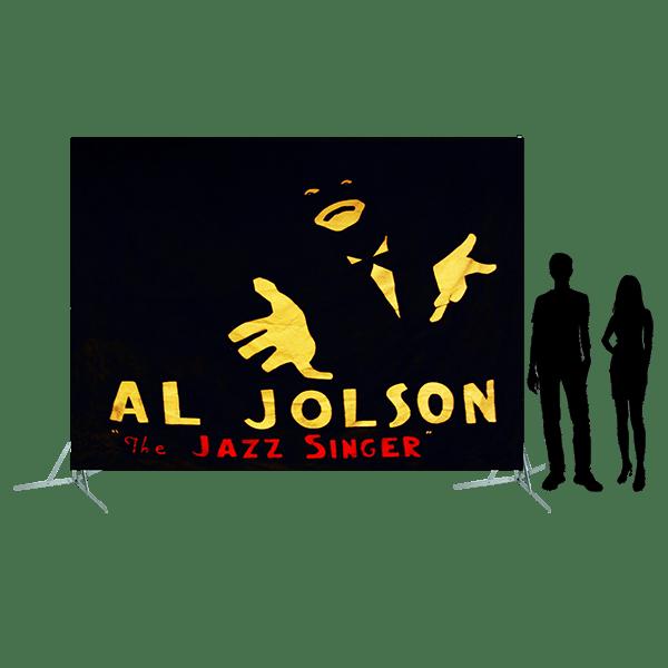 Toile 43 - Al Jolson - Jazz Singer