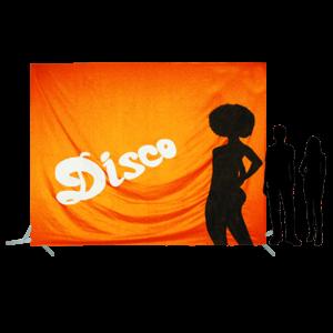 Toile 47 - Disco avec danseuse orange