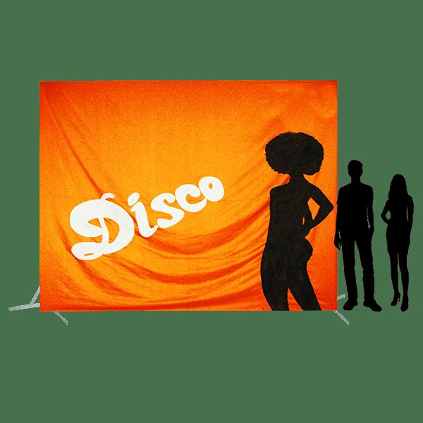 Toile 47 Disco avec danseuse orange copie 4
