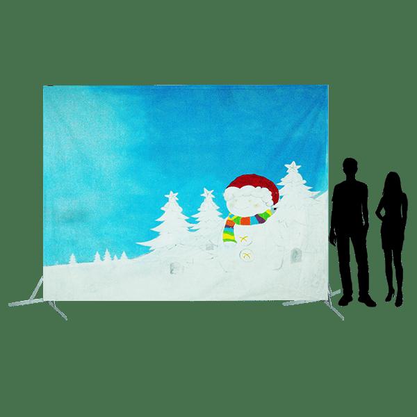 Toile 48 - décor de Noël