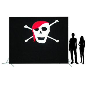 Toile 49 - tête de mort avec foulard