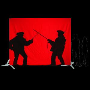 Toile 50 - Duel à l'épée