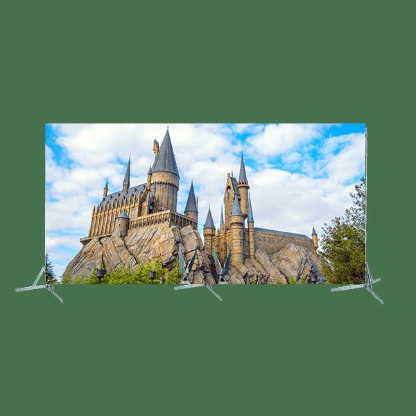 Toile 5m00 x 2m50 Chateau Poudlard Harry Potter copie 6