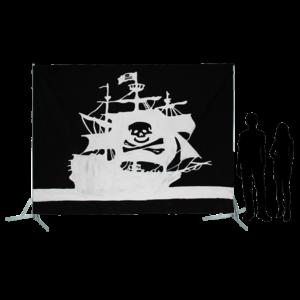 Toile 60 - Galion Pirate - L'île au trésor