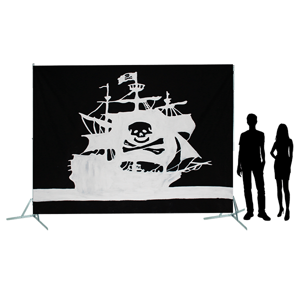 Toile 60 Galion Pirate Lile au tresor copie 4