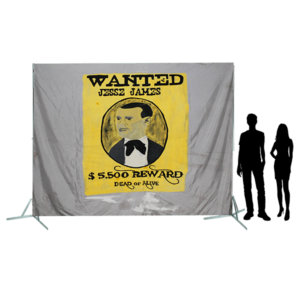 Toile 62 - Wanted Jesse James