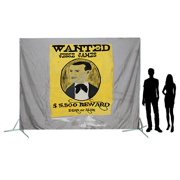 Toile 62 Wanted Jesse James copie 4