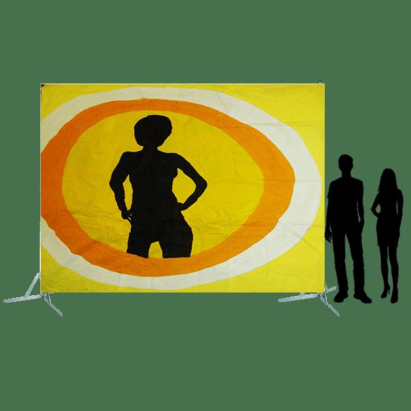 Toile 7 Danseuse disco jaune copie 4