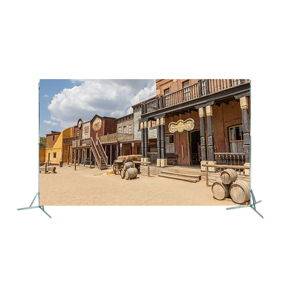 Toile n°15 - 4m00 x 2m80 - Far West Saloon copie